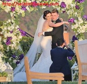nick carter-wedding